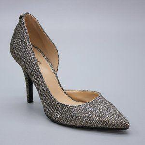 Michael Kors Ladies 6 M Metallic Silver Gold